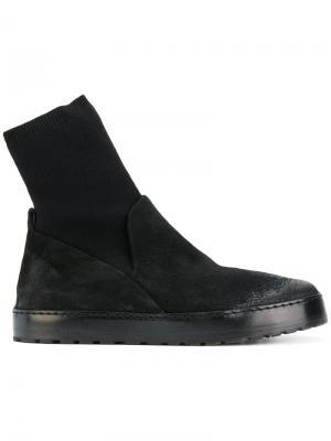 Ботинки-челси с голенищем-чулком Marsèll. Цвет: чёрный