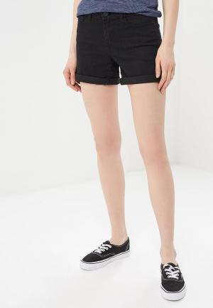Шорты джинсовые Noisy May. Цвет: черный