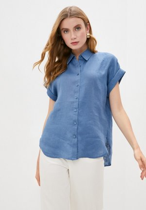 Блуза Lauren Ralph. Цвет: синий