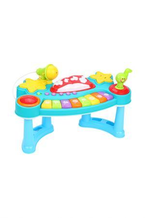 Развивающая игрушка Пианино ЖИРАФИКИ. Цвет: синий