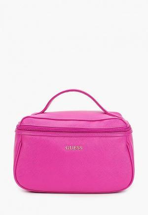 Косметичка Guess. Цвет: розовый