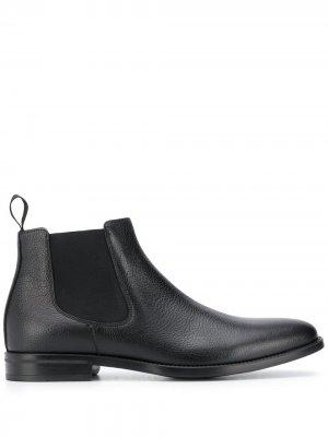 Ботинки челси Leonardo Scarosso. Цвет: черный