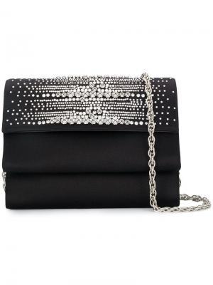 Crystal embellished clutch bag Rodo. Цвет: черный