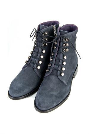 Ботинки PERTINI. Цвет: мокрый асфальт