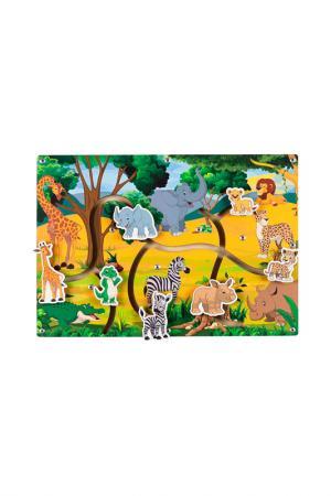 Сортер Лабиринт Африка PAREMO. Цвет: мультицвет