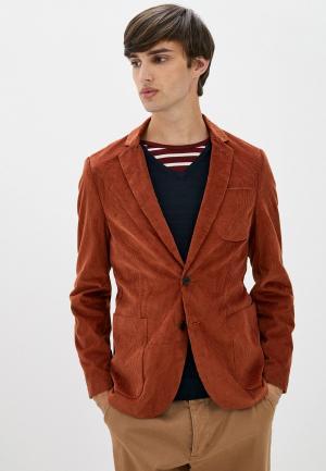 Пиджак Scotch&Soda. Цвет: коричневый