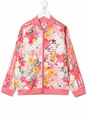 Куртка SST Her Studio London adidas Kids. Цвет: розовый