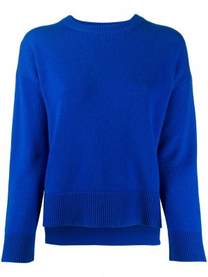 Свитер с приспущенными плечами Pringle of Scotland. Цвет: синий