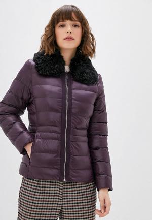 Куртка утепленная Camomilla Italia. Цвет: фиолетовый