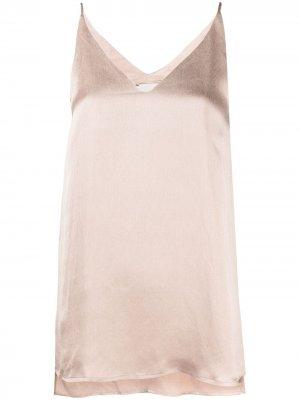 Блузка с V-образным вырезом Alysi. Цвет: нейтральные цвета