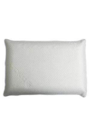 Подушка классика, 60х40х13см Smart-Textile. Цвет: белый