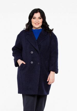 Пальто Intikoma. Цвет: синий