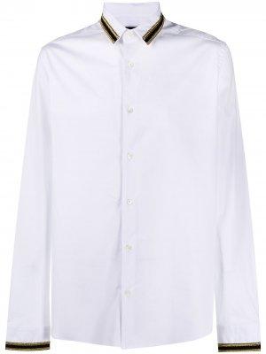 Рубашка с длинными рукавами Les Hommes. Цвет: белый