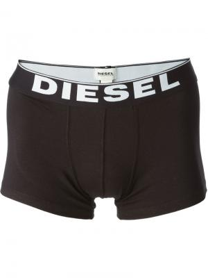 Боксеры Kory Diesel. Цвет: чёрный