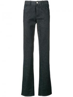 Джинсы с пятью карманами Brioni. Цвет: синий