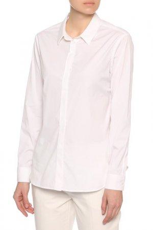 Рубашка Burberry. Цвет: белый