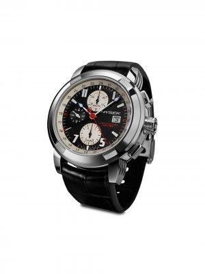 Наручные часы Chronograph Dual Time 47 мм Jorg Hysek. Цвет: черный