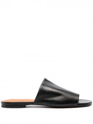 Сандалии Itou с открытым носком Clergerie. Цвет: черный