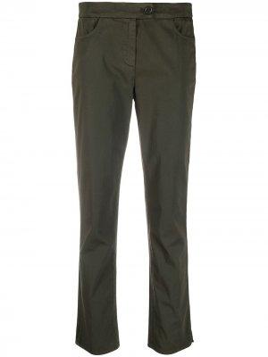 Расклешенные брюки с пуговицами Aspesi. Цвет: зеленый