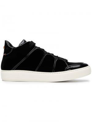 Кроссовки в футуристичном стиле Ermenegildo Zegna XXX. Цвет: черный