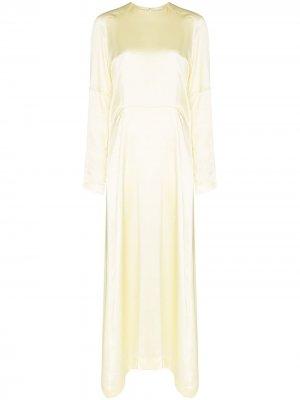 Платье с рукавами реглан Carcel. Цвет: желтый