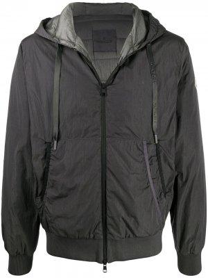 Куртка Mondrone с капюшоном Moncler. Цвет: серый
