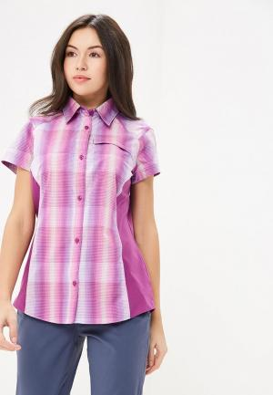 Рубашка Columbia. Цвет: фиолетовый