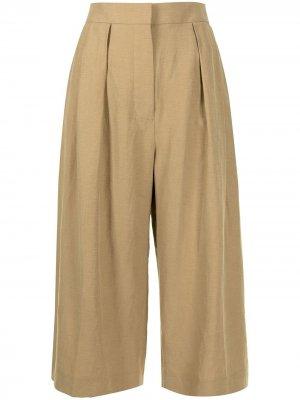 Укороченные брюки Cooley Altuzarra. Цвет: коричневый