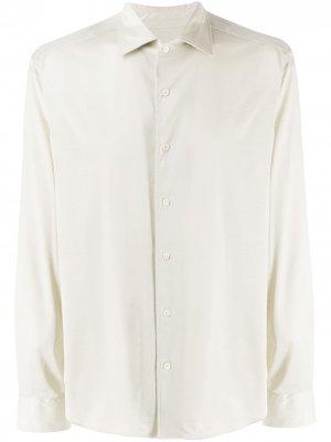 Рубашка стандартного кроя Corneliani. Цвет: серый