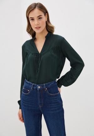 Блуза Q/S designed by. Цвет: зеленый