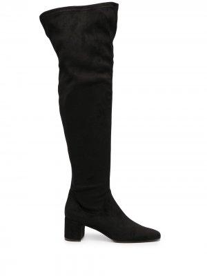 Ботфорты на каблуке Roberto Festa. Цвет: черный