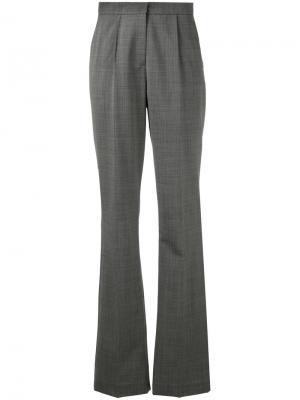 Строгие брюки с завышенной талией Antonio Berardi. Цвет: серый
