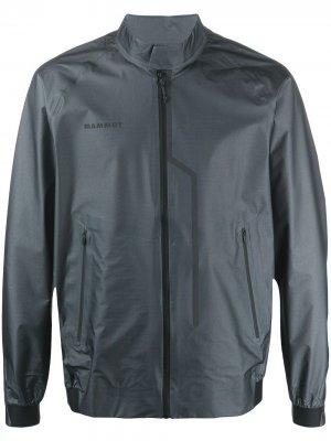 Легкая куртка Mammut. Цвет: серый
