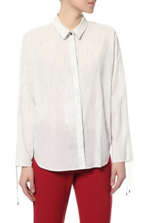 Блузка Pennyblack. Цвет: 001-ivory pattern