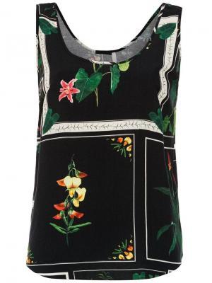 Printed blouse Osklen. Цвет: черный