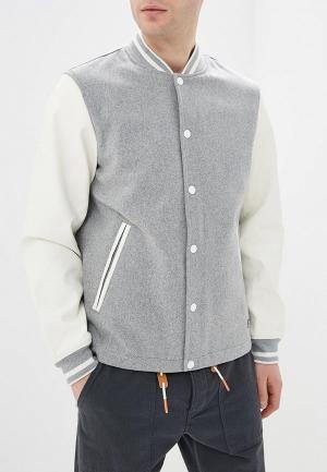 Куртка Tom Tailor Denim. Цвет: серый