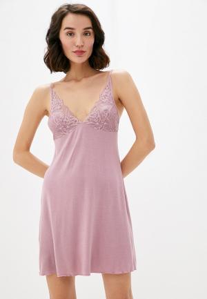 Сорочка ночная Дефиле. Цвет: розовый