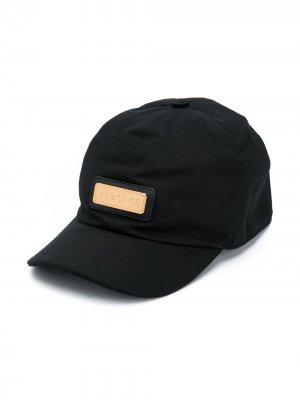 Бейсболка с логотипом Young Versace. Цвет: черный