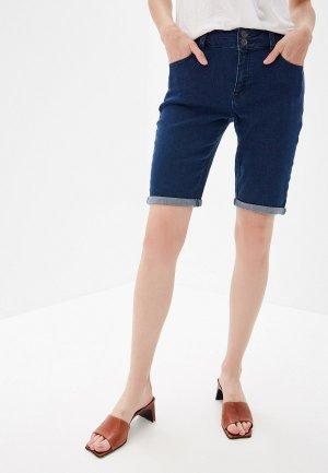 Шорты джинсовые Dorothy Perkins. Цвет: синий