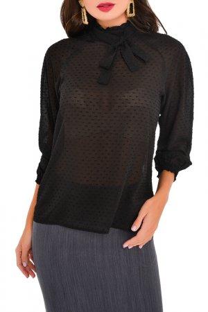 Блуза MONDIGO. Цвет: черный