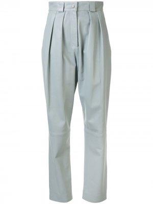 Зауженные брюки Faith Connexion. Цвет: синий