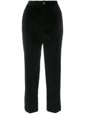 Укороченные брюки A.P.C.. Цвет: черный