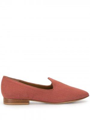 Слиперы с заостренным носком Le Monde Beryl. Цвет: красный