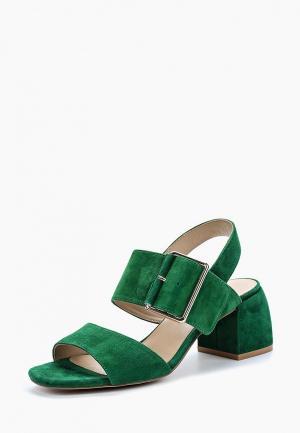 Босоножки Antonio Biaggi. Цвет: зеленый