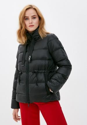 Куртка утепленная Rich&Royal. Цвет: черный