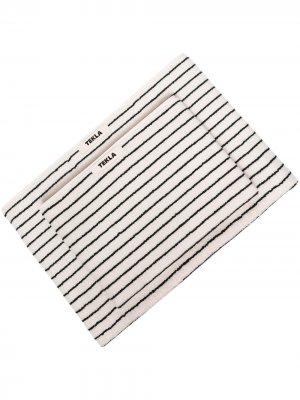Набор полотенец в полоску TEKLA. Цвет: нейтральные цвета