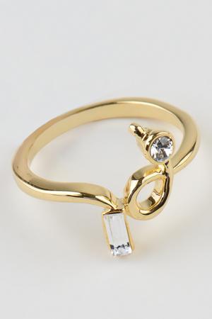 Кольцо Slava Zaitsev. Цвет: золото