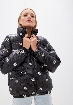 Куртка утепленная Front Street. Цвет: черный