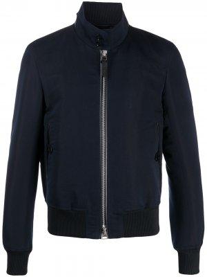 Куртка-бомбер Harrington Tom Ford. Цвет: синий