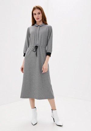 Платье UNQ. Цвет: серый